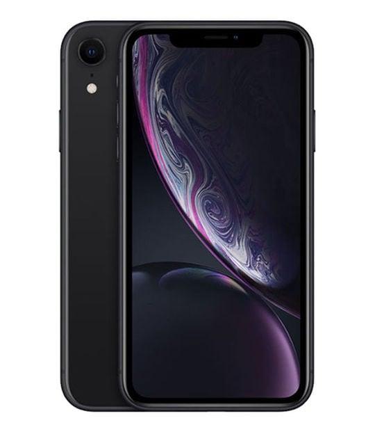 【中古】【安心保証】 iPhoneXR[64GB] au MT002J ブラック