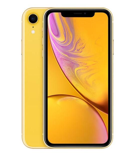 【中古】【安心保証】 iPhoneXR[128GB] au MT0Q2J イエロー