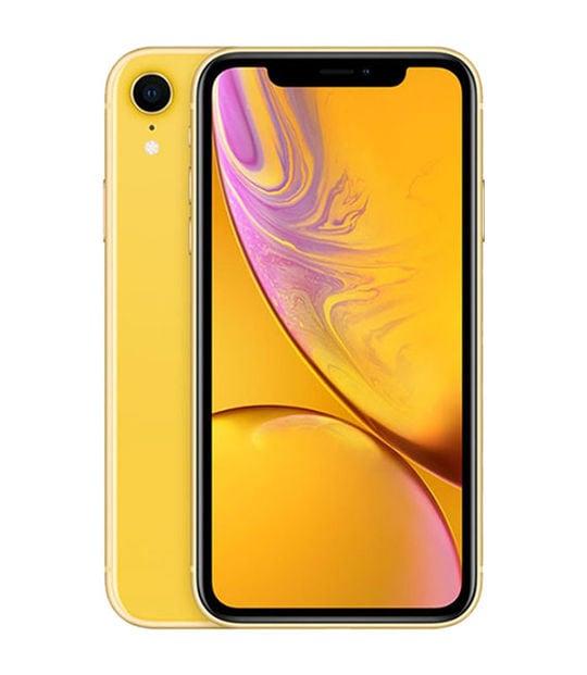 【中古】【安心保証】 iPhoneXR[256GB] SIMロック解除 docomo イエロー