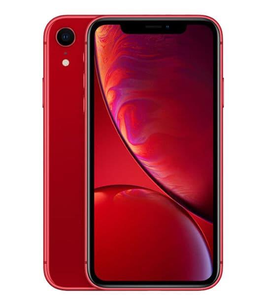 【中古】【安心保証】 iPhoneXR[64GB] au MT062J レッド