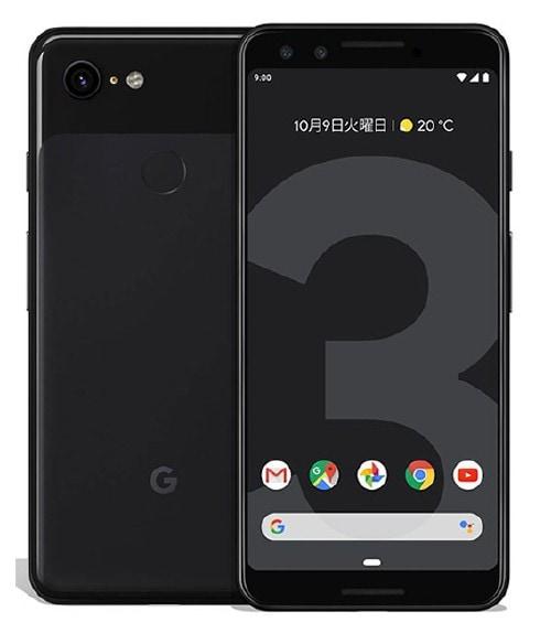 【中古】【安心保証】 SIMフリー Pixel 3[128G] ジャストブラック