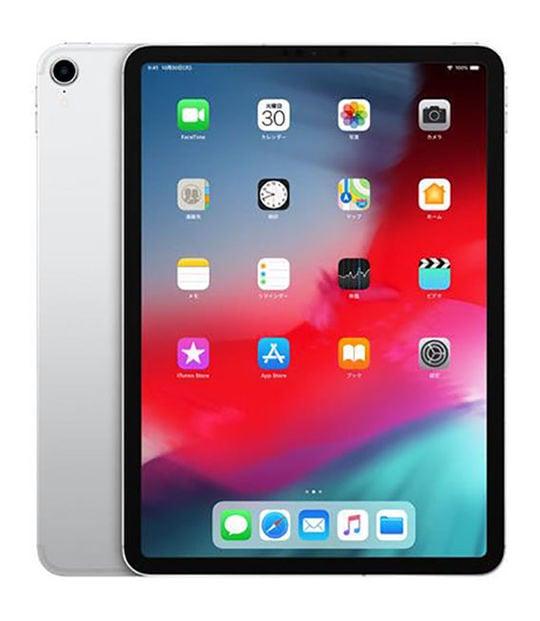 【中古】【安心保証】 iPadPro 11インチ 第1世代[64GB] セルラー SoftBank シルバー