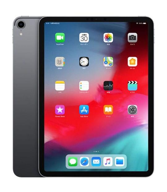 【中古】【安心保証】 iPadPro 11インチ 第1世代[64GB] Wi-Fiモデル スペースグレイ