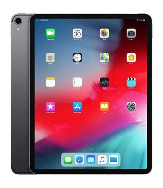 【中古】【安心保証】 iPadPro 12.9インチ 第3世代[1TB] SIMフリー スペースグレイ