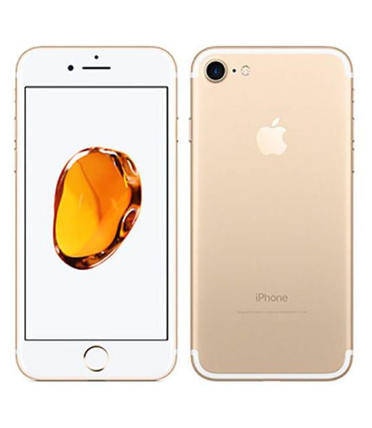 【中古】【安心保証】 iPhone7[128GB] UQモバイル MNCM2J ゴールド