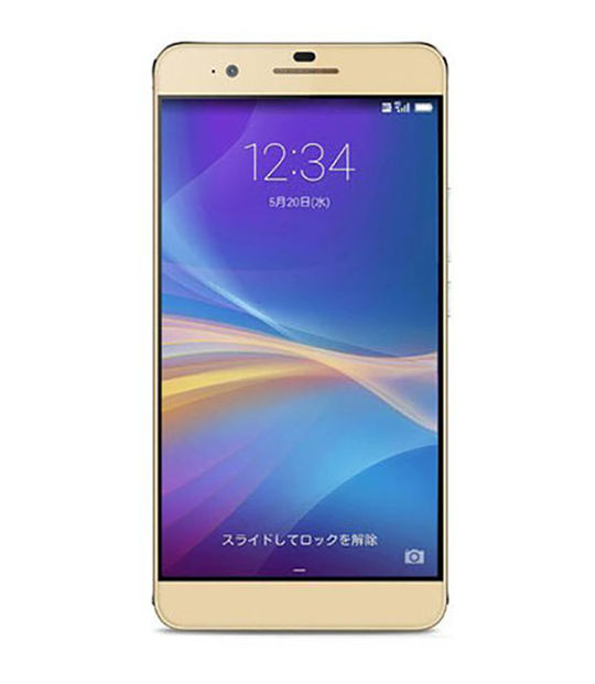 【中古】【安心保証】 楽天モバイル honor6 Plus ゴールド