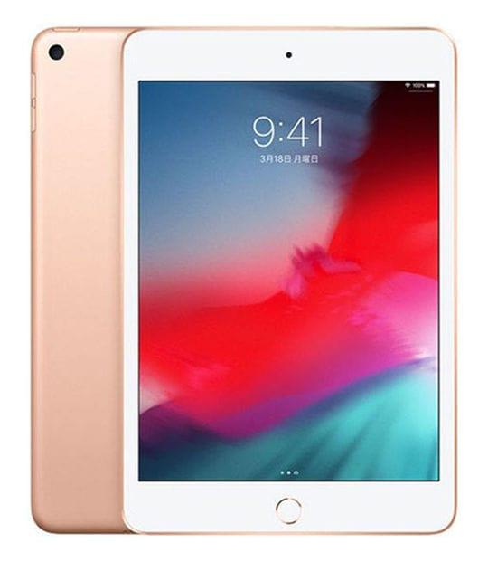【中古】【安心保証】 iPadmini5 7.9インチ[64GB] セルラー SoftBank ゴールド