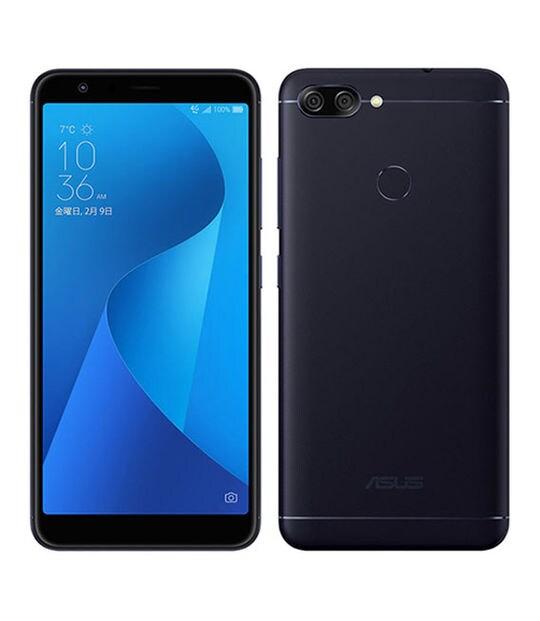 【中古】【安心保証】 SIMフリー ZenFone Max Plus[32G] ブラック