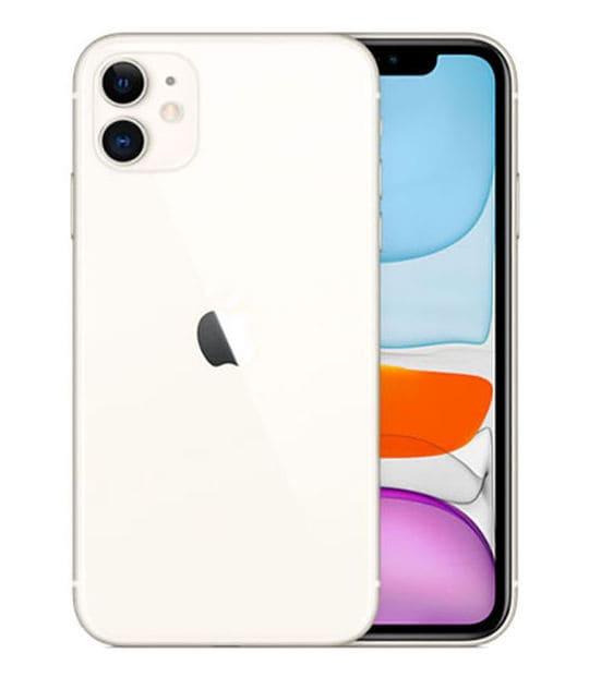 【中古】【安心保証】 iPhone11[64GB] docomo MWLU2J ホワイト