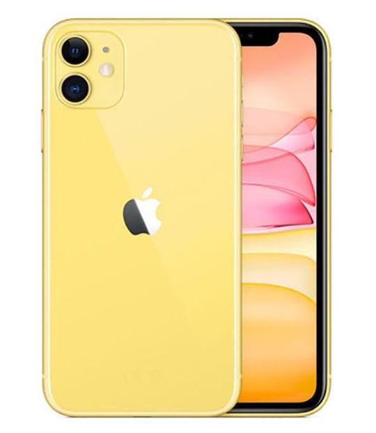 【中古】【安心保証】 iPhone11[64GB] au MWLW2J イエロー
