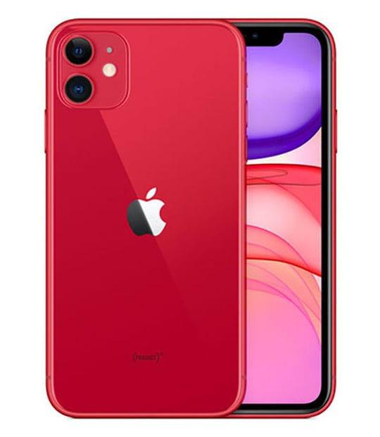 【中古】【安心保証】 iPhone11[128GB] SIMロック解除 au レッド