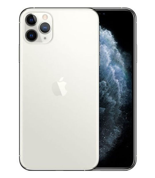 【中古】【安心保証】 iPhone11 Pro Max[64GB] au MWHF2J シルバー