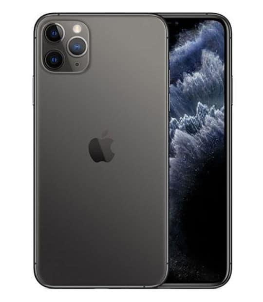 【中古】【安心保証】 iPhone11 Pro Max[256GB] SIMロック解除 au スペースグレイ