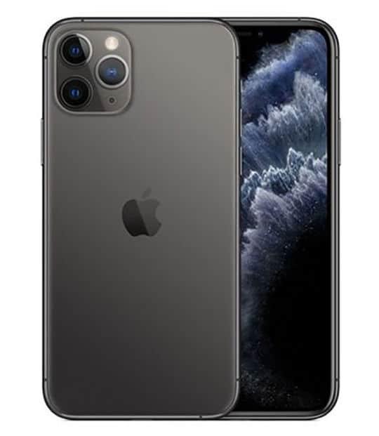 【中古】【安心保証】 iPhone11 Pro[64GB] SIMロック解除 au スペースグレイ