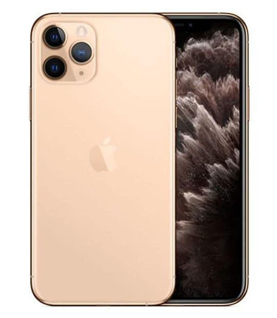 【中古】【安心保証】 iPhone11 Pro[256GB] SIMロック解除 au ゴールド
