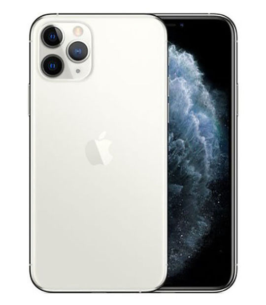 【中古】【安心保証】 iPhone11 Pro[256GB] SIMロック解除 au シルバー