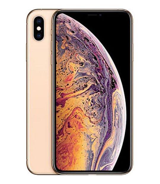 【中古】【安心保証】 iPhoneXSMax[64GB] SoftBank 3D894J ゴールド