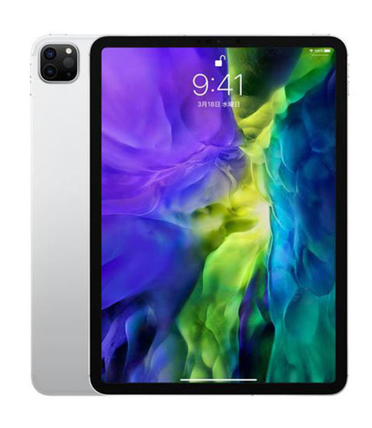 【中古】【安心保証】 iPadPro 11インチ 第2世代[1TB] Wi-Fiモデル シルバー