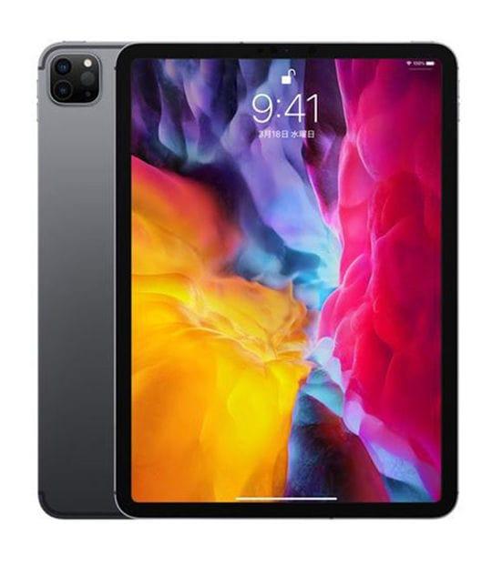 【中古】【安心保証】 iPadPro 11インチ 第2世代[1TB] SIMフリー スペースグレイ