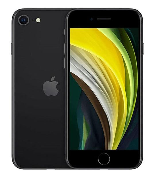 【中古】【安心保証】 iPhoneSE 第2世代[128GB] SoftBank MXD02J ブラック