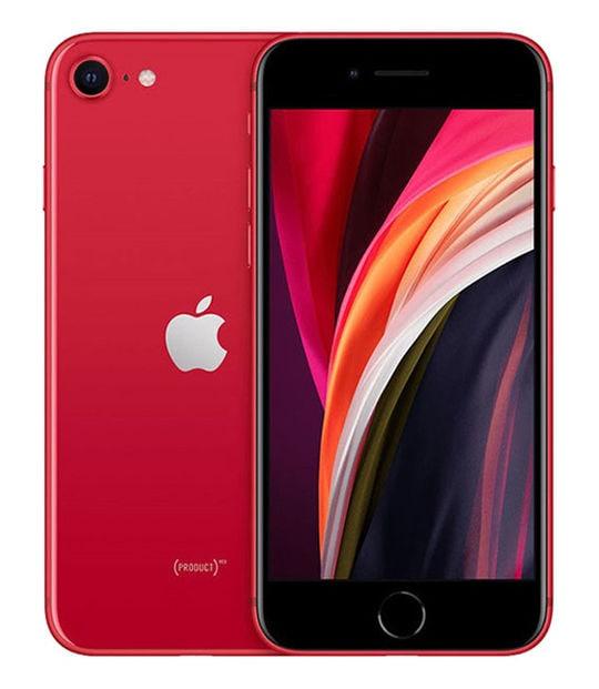 【中古】【安心保証】 iPhoneSE 第2世代[128GB] SoftBank MXD22J レッド