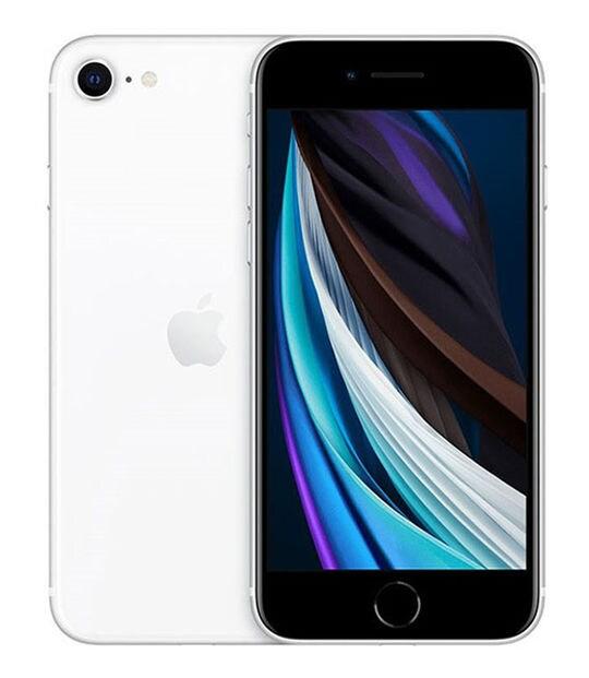 【中古】【安心保証】 iPhoneSE 第2世代[128GB] SIMロック解除 UQモバイル ホワイト