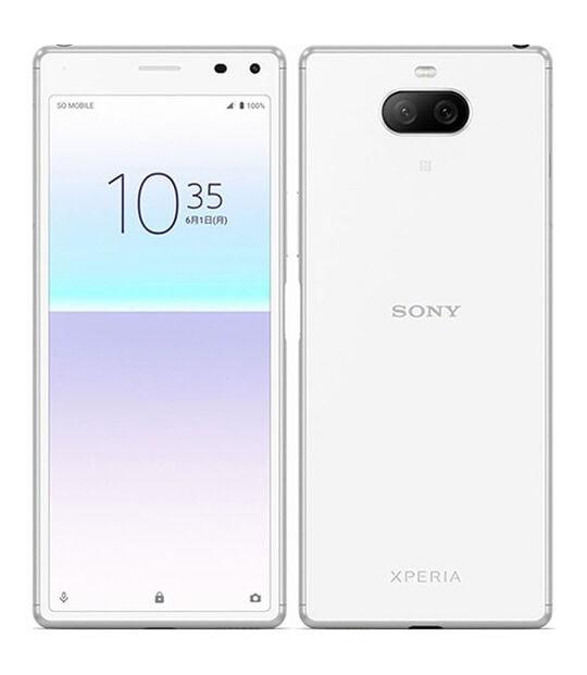 【中古】【安心保証】 SIMフリー Xperia 8 Lite ホワイト