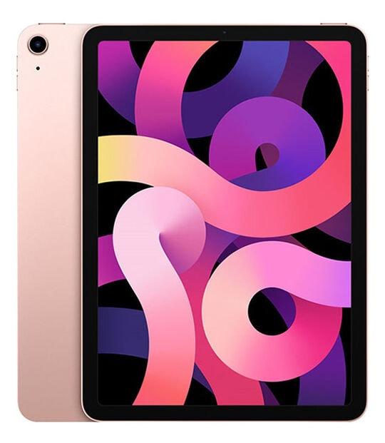 【中古】【安心保証】 iPadAir 10.9インチ 第4世代[256GB] セルラー SoftBank ローズゴールド