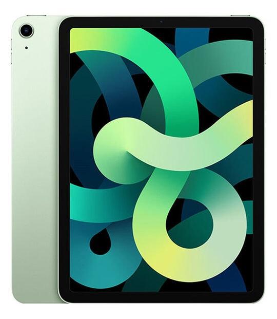 【中古】【安心保証】 iPadAir 10.9インチ 第4世代[256GB] セルラー SoftBank グリーン