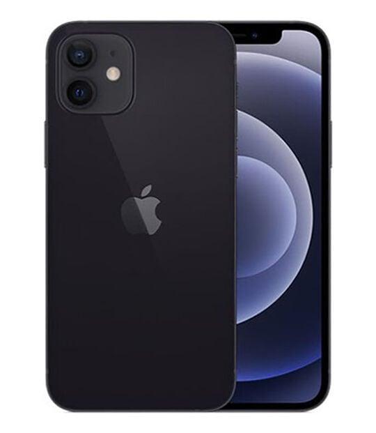 【中古】【安心保証】 iPhone12[64GB] docomo MGHN3J ブラック