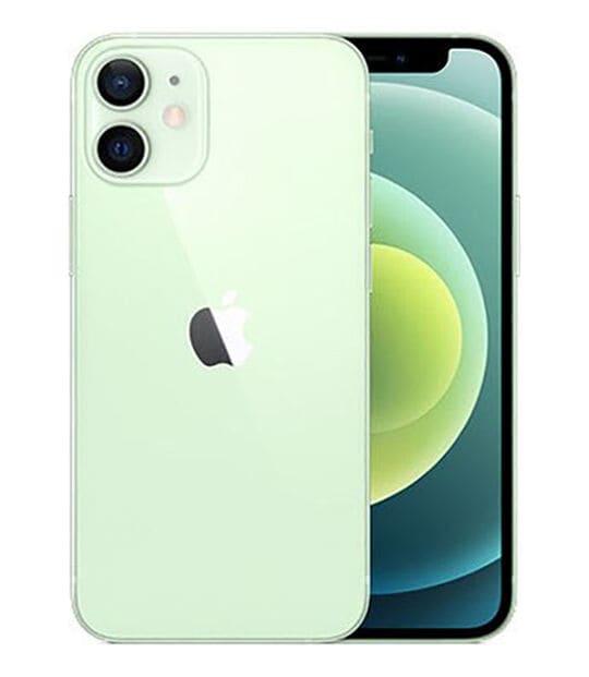 【中古】【安心保証】 iPhone12mini[256GB] docomo MGDW3J グリーン