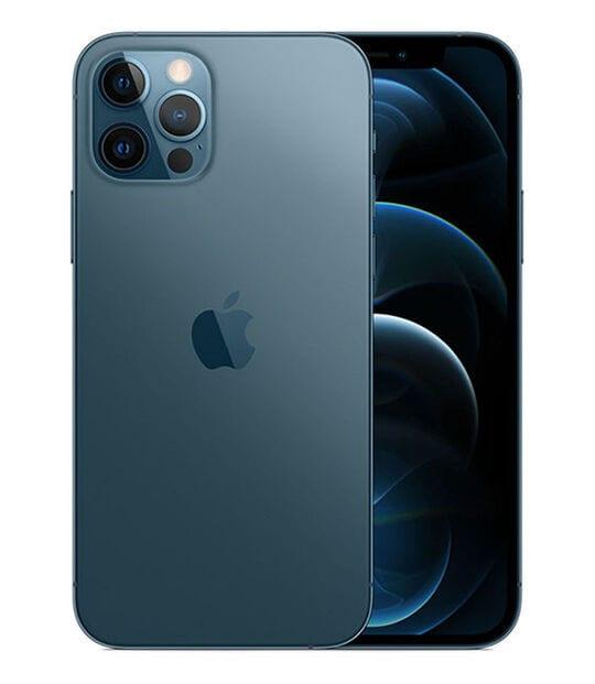 【中古】【安心保証】 iPhone12Pro[256GB] docomo MGMD3J パシフィックブルー
