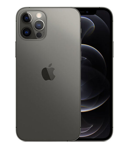 【中古】【安心保証】 iPhone12Pro[256GB] docomo MGM93J グラファイト