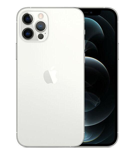 【中古】【安心保証】 iPhone12Pro[256GB] docomo MGMA3J シルバー