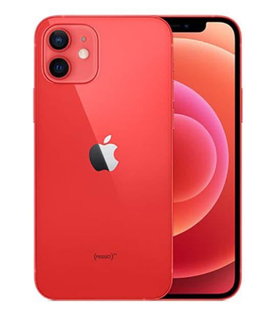 【中古】【安心保証】 iPhone12[64GB] au MGHQ3J PRODUCTRED