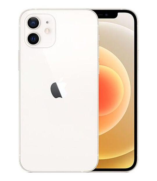 【中古】【安心保証】 iPhone12[128GB] au MGHV3J ホワイト