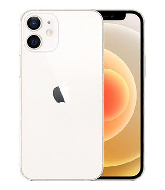 【中古】【安心保証】 iPhone12mini[64GB] au MGA63J ホワイト