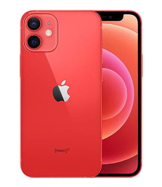 【中古】【安心保証】 iPhone12mini[128GB] au MGDN3J PRODUCTRED