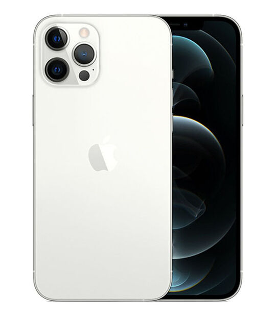 【中古】【安心保証】 iPhone12ProMax[256GB] au NGD03J シルバー