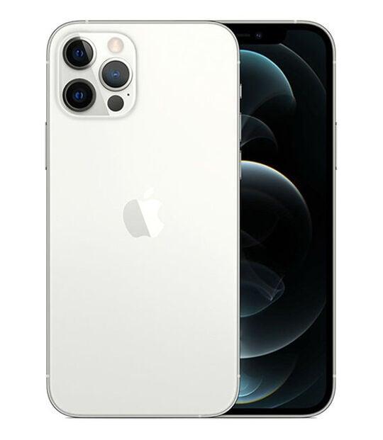 【中古】【安心保証】 iPhone12Pro[128GB] SoftBank MGM63J シルバー