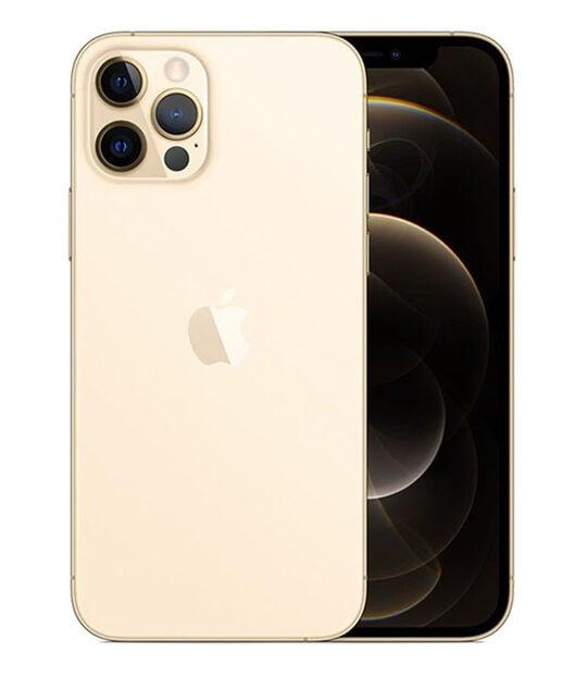 【中古】【安心保証】 iPhone12Pro[256GB] SoftBank MGMC3J ゴールド