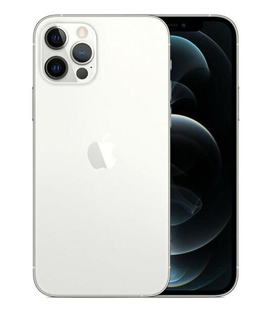 【中古】【安心保証】 iPhone12Pro[256GB] SoftBank MGMA3J シルバー