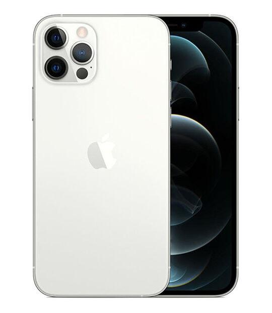 【中古】【安心保証】 iPhone12Pro[128GB] SIMフリー シルバー