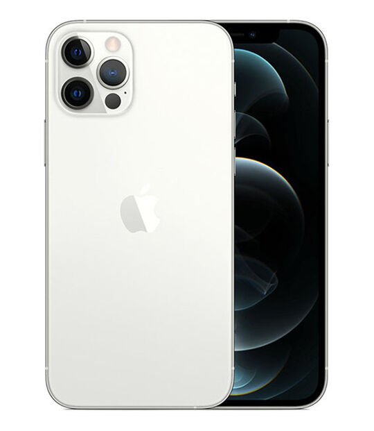 【中古】【安心保証】 iPhone12Pro[256GB] SIMフリー シルバー