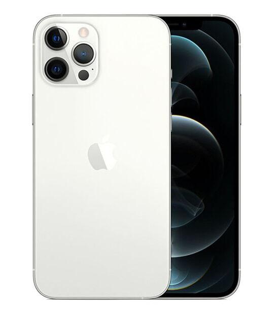 【中古】【安心保証】 iPhone12ProMax[256GB] SIMフリー シルバー