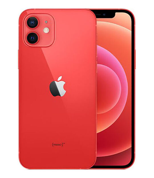 【中古】【安心保証】 iPhone12[256GB] SIMロック解除 docomo PRODUCTRED