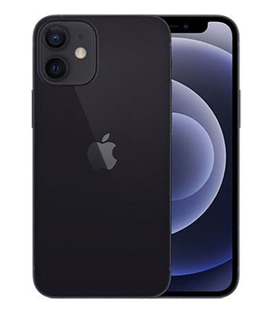 【中古】【安心保証】 iPhone12mini[128GB] SIMロック解除 docomo ブラック