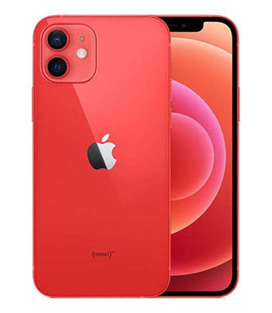 【中古】【安心保証】 iPhone12[64GB] SIMロック解除 au PRODUCTRED