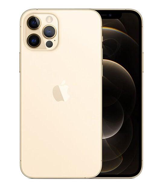 【中古】【安心保証】 iPhone12Pro[128GB] SIMロック解除 SoftBank ゴールド