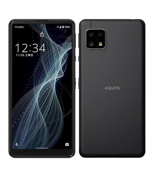 【中古】【安心保証】 Y!mobile A003SH ブラック